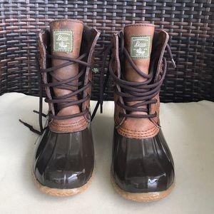 H. B Bass & Co Harlequin Duck Rain Boot